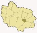 Map of Adjuntas highlighting Adjuntas City.png