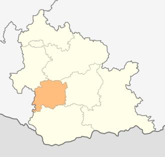 Dzhebel Municipality - Dzhebel municipality within Kardzhali Province