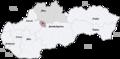 Map slovakia turcianske teplice.png