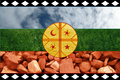 Mapuche Flag represented by actual elements.png