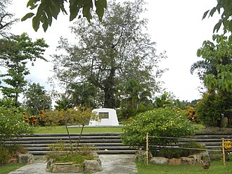 Pangasinan - Grave of Don Daniel B. Maramba (Santa Barbara)