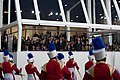 Marching band performs at 57th Presidential Inauguration Review Stand 130121-Z-QU230-256.jpg
