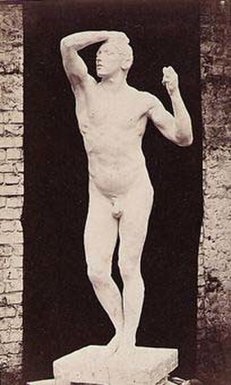 The Age of Bronze - Image: Marconi, Gaudenzio Il gesso de L'age d'arain di Rodin 1877 01