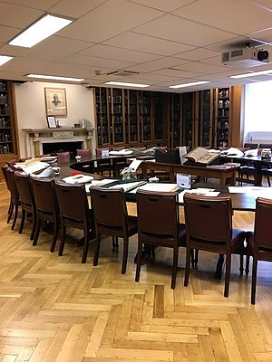 Marcus Beck - Marcus Beck Library at the Royal Society of Medicine 2017
