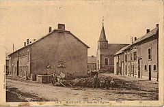 Margny-FR-08-village avant sa destruction de 1914.jpg
