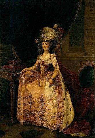 Zacarías González Velázquez - Image: Maria Luisa of Parma as Queen of Spain by Zacarías González Velázquez