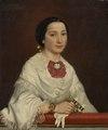 Maria Ricci, g.m. konstnären Carl Gustaf Plagemann (Emma Ekwall) - Nationalmuseum - 132281.tif