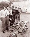 Mariborski modelarji pred začetkom prireditve 1960..jpg