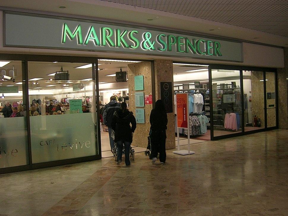 Marks and Spencer.Kirkcaldy