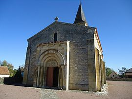 The church in Mars-sur-Allier