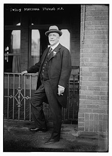 Marshall Stevens in 1919 at the International Trade Conference.jpg
