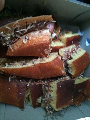 Apam balik - Image: Martabak toblerone