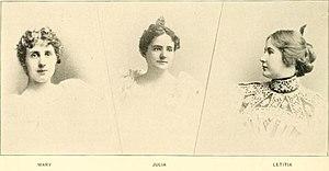 Adlai Stevenson I - Mary, Julia and Letitia Stevenson