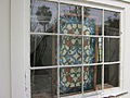 Mary Plantation Guest House Stained Glass Window Bedroom.JPG