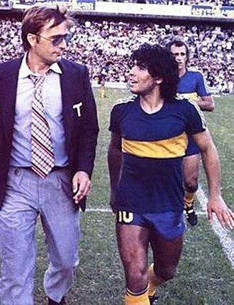 Silvio Marzolini - Marzolini (left) coached Diego Maradona in 1981