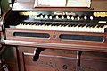 Mason & Hamlin pump organ - Ardenwood and Patterson House, Fremont (2015-07-25 13.55.47 by Emily Ramos).jpg