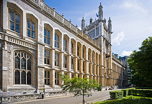 Maughan Library - Image: Maughan library 1