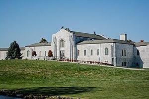 Knollwood Cemetery - Knollwood Cemetery mausoleum.