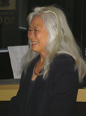 Maxine Hong Kingston in New York City