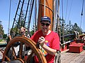 Me on aboard the HMB Endeavour replica - Sunday, 28th September 2008 - panoramio.jpg