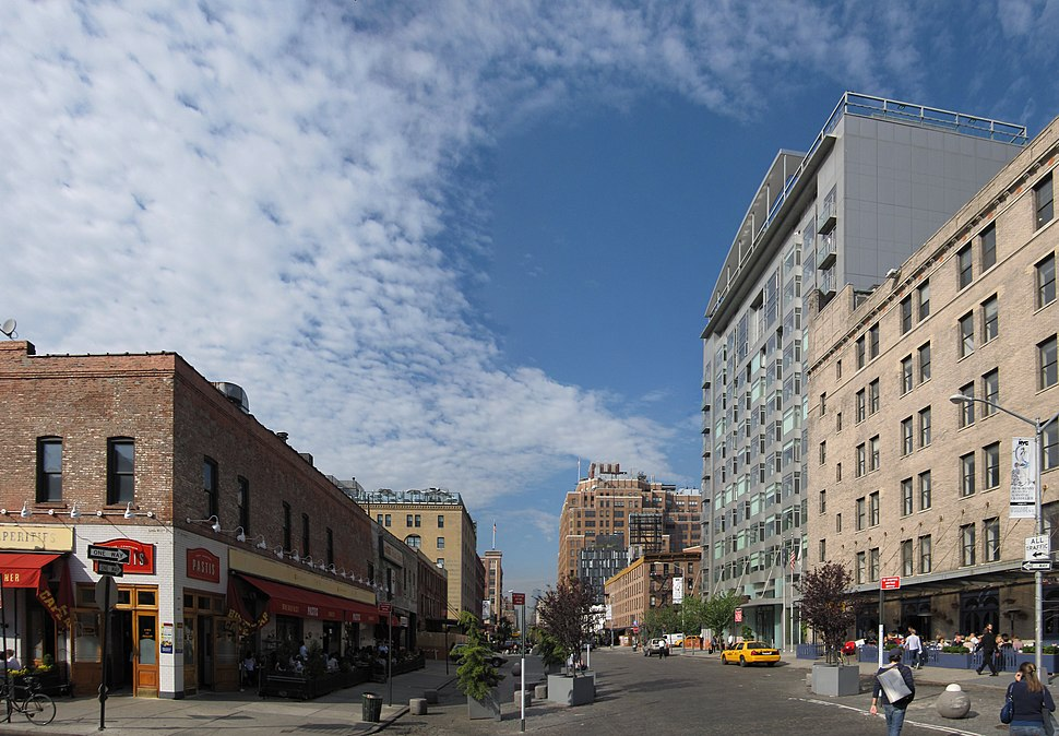 Meatpacking District panoramic