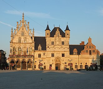 Mechelen - Image: Mechelen City Hall 01