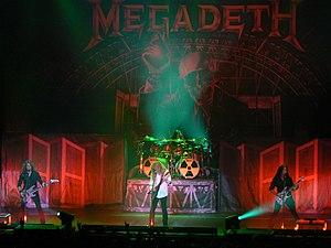 Megadeth - Image: Megadeth 2010