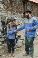 Meir Alfasi at Everest Base Camp meeting people.png