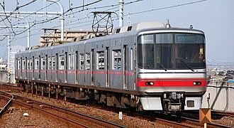 Meitetsu 5000 series (2008) - 5000 series at Tokoname Station, December 2008