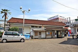 Nishi Biwajima Station Railway station in Kiyosu, Aichi Prefecture, Japan