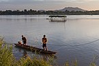 Mekong pirogue at sunset in the 4000 islands (3).jpg