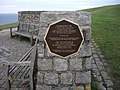 Memorial near Beachy Head - geograph.org.uk - 1405024.jpg