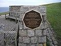 Memorial near Beachy Head - geograph.org.uk - 1405024.jpg
