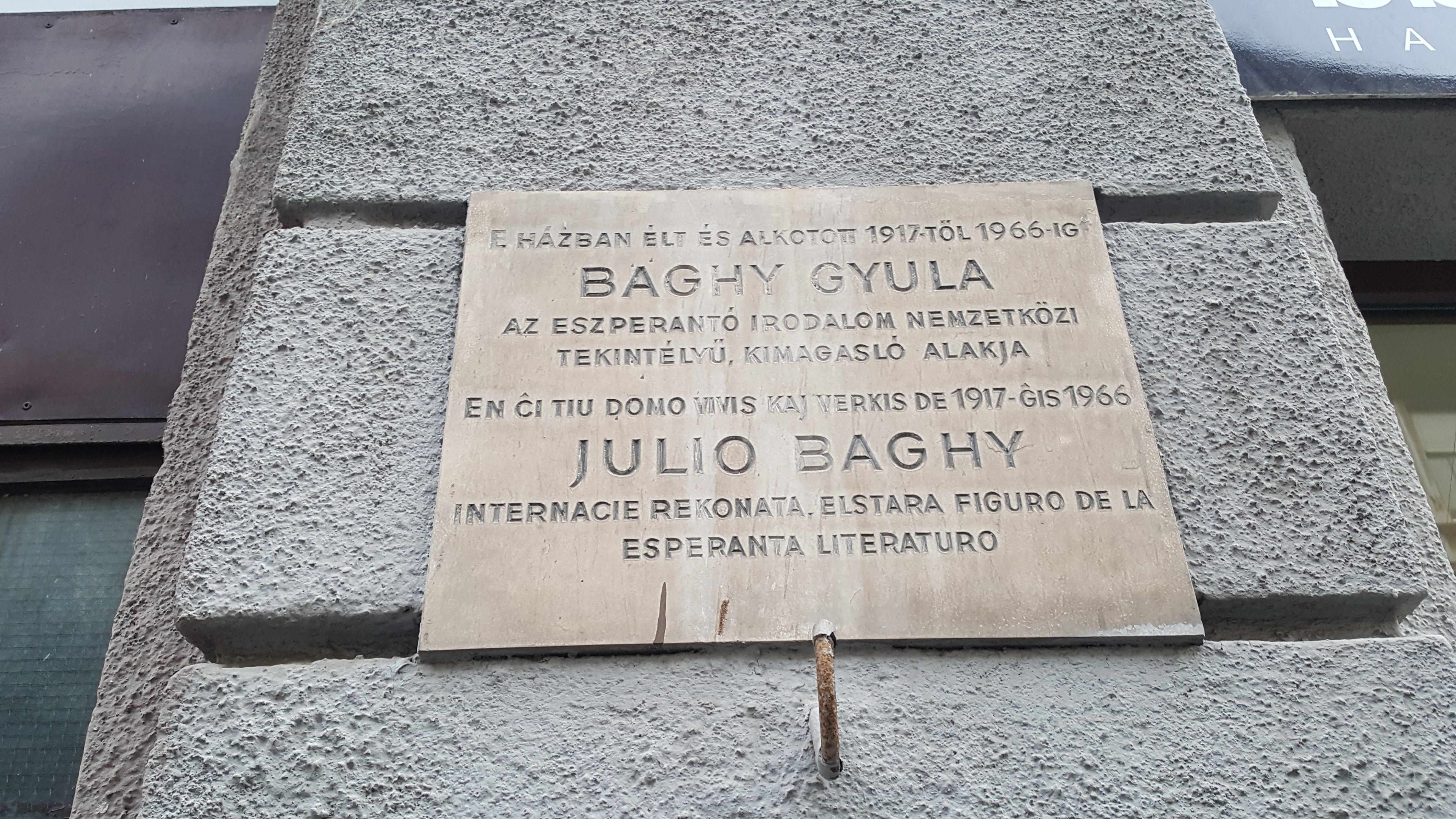 Julio Baghy verda koro