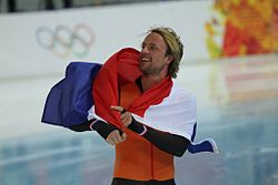 Men's 500m, 2014 Winter Olympics, Michel Mulder (3).jpg