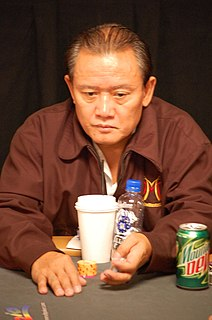 Men Nguyen Vietnamese-American poker player