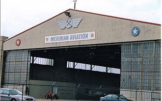 Meridian Regional Airport - Main Hangar at Key Field