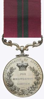 Meritorious Service Medal (Australia) Award