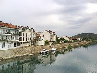 D9 road (Croatia) - Metković, on the D9 route