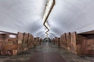 Barrikadnaya - Image: Metro MSK Line 7 Barrikadnaya