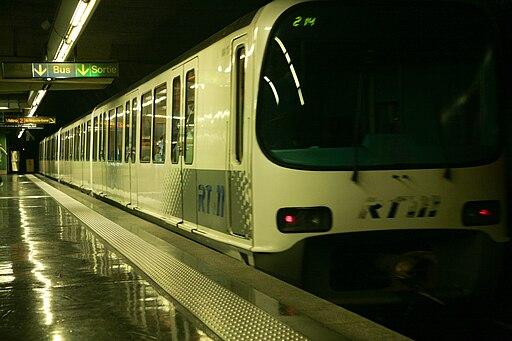 Metro Marseille ND du Mont