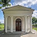 Miłoszyce Cmentarz 1830r - Kaplica w formie Panteonu 2.jpg