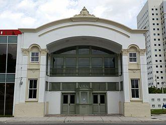 Overtown (Miami) - Lyric Theater, 1914