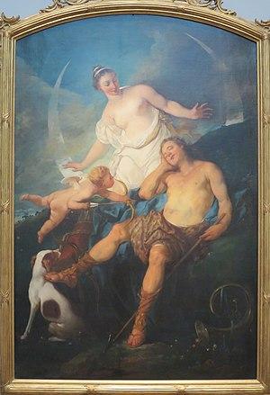 Michel-François Dandré-Bardon - Image: Michel Francois Dandre Bardon Diana and Endymion, 1726
