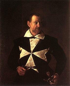 Michelangelo Merisi da Caravaggio, Portrait of Antonio Martelli (1608, WGA04185).jpg