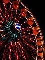Michigan's Adventure Giant Gondola Wheel at night (7769035020).jpg