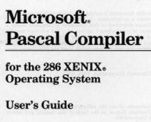 Microsoft Pascal - Image: Microsoft Pascal