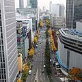 Mido-suji from Umeda-Hankyu-BLDG Office Tower in 201411.JPG