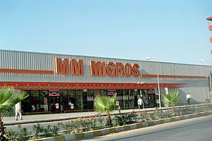 BC Partners - One of BC Partners-owned Migros Türk retail stores. The company is Turkey's leading supermarket chain.