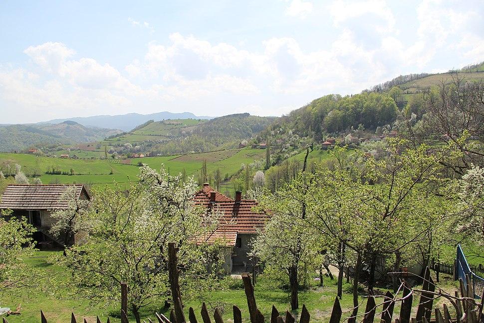 Mijači - opština Valjevo - zapadna Srbija - panorama 10